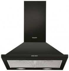 Hotpoint 60cm Wide Chimney Cooker Hood PHPN64FAMK (Black)